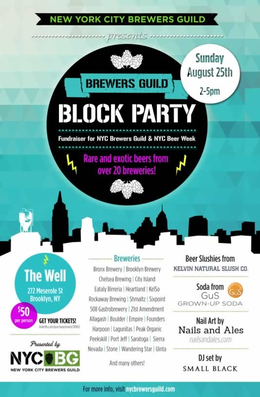 NYC Brewers Guild Block Party